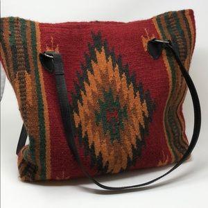 Handbags - Serape Tote Bag